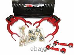 TruHart Front & Rear Adjustable Alignment Camber Kit withBushings for EG DC2 DC4