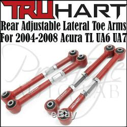 TruHart Rear Camber & Lateral Toe Arms Kit For Acura TL / Type-S 04-2008 UA6 UA7