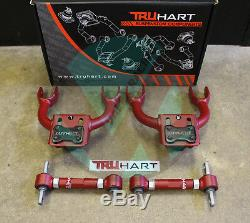 Truhart Adjustable Front & Rear Camber Kit Combo For 94-01 Acura Integra DC2