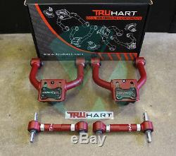 Truhart Adjustable Front & Rear Camber Kit Combo For 96-00 Honda Civic EK