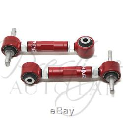 Truhart FRONT withBushing& REAR Camber Kit Combo for 92-95 Civic 94-01 Integra DC2