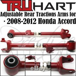 Truhart Front Cambers, Rear Camber, Traction Toe Arms Kit For 2008-12 Honda Accord