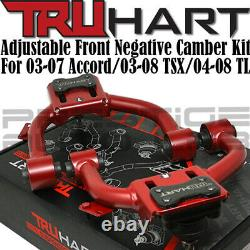 Truhart Front (Negative) and Rear Camber Kit Combo for 04-2008 Acura TL UA6 UA7