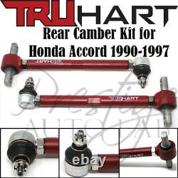 Truhart Rear Camber Arms Kit Adjustable Th-h220 For Honda Accord 1990-1997