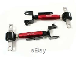 Wicked Tuning 01-05 Honda CIVIC / 02-06 Acura Rsx Spec-3 Rear Camber Arms Red
